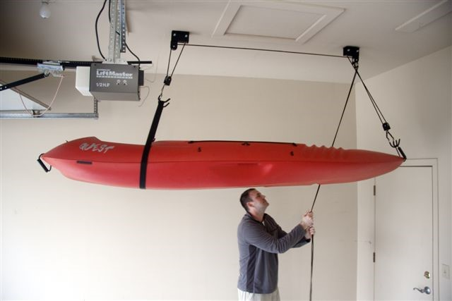 Overhead Ceiling Kayak And Canoe Storage Nj