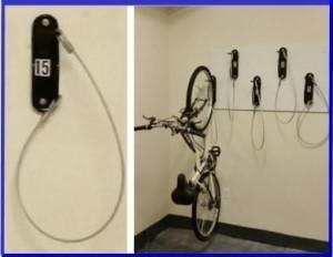 #42488 Bike Brackets In Lakewood Provide Space Saving Bike Storage. Free  Bike Room Layouts
