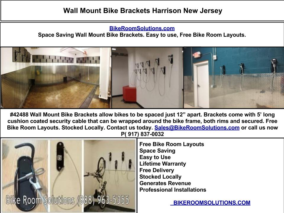 Wall Mount Bike Brackets Harrison Bike Room Solutions
