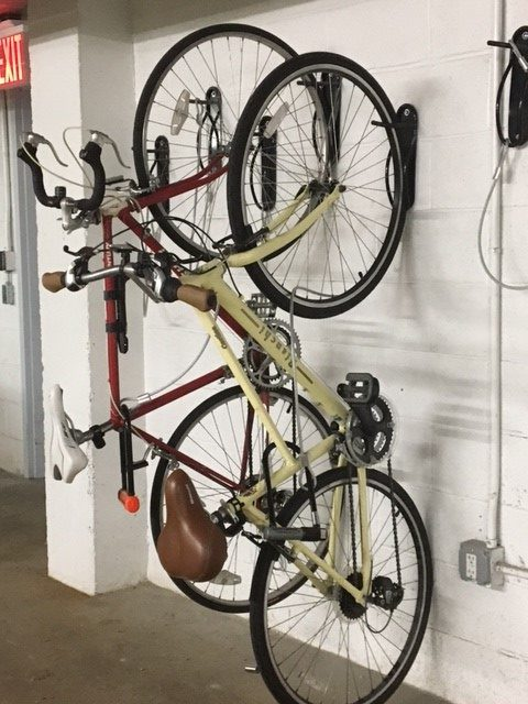 Wall Mounted Bike Brackets New York City - BIKE ROOM SOLUTIONS