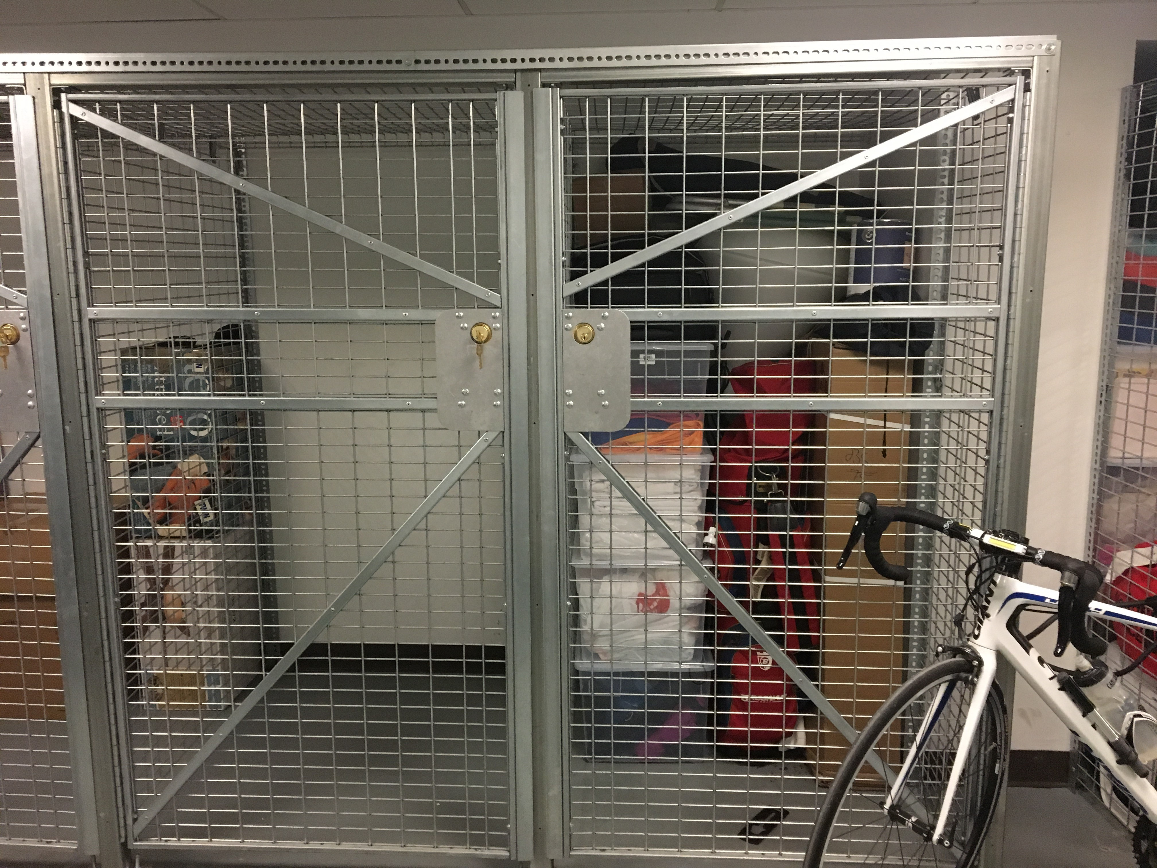 Solent Lockable Shelter Cycle Works Limited Bike Lockers & Bike Cage Storage - Best Cage Design 2018