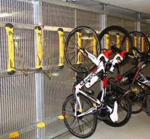 wall mount bike brackets no lifting required bike room solutions. Black Bedroom Furniture Sets. Home Design Ideas
