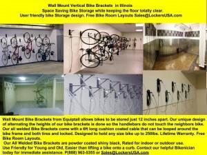wall mount bike racks Illinois