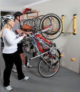 Vertical Bike Racks Long Island City