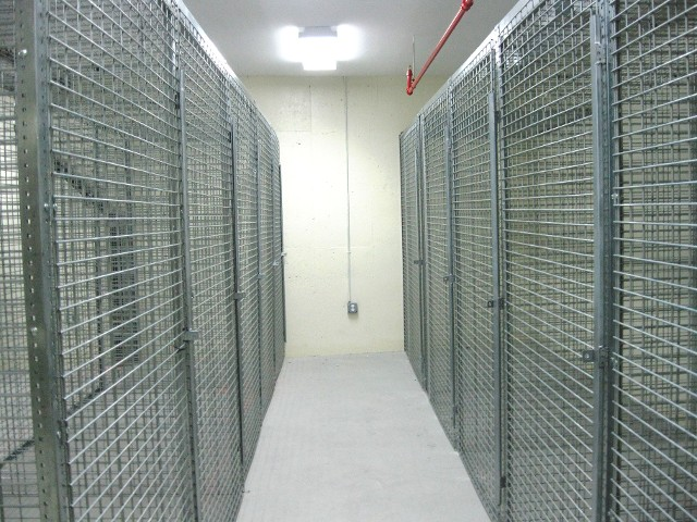Tenant Storage Cages New Brunswick