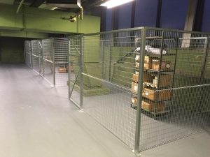 Newly Cleared space now generates $45k per year renting onsite storage to vendors.