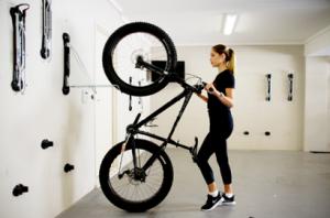 Fat Tire Wall Mount Bike Brackets Arlington VA