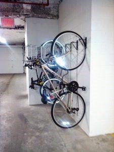 Wall Mount Hanging Bike Brackets NYC