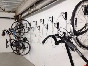 Wall Mounted Hanging Bike Brackets New York City