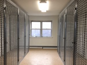 Tenant Storage cages Chicago Illinois