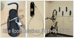 Vertical wall mount bike brackets NYC