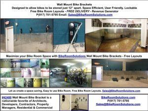 wall mount bike racks NY