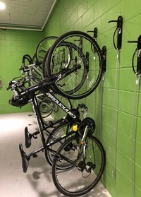 Vertical Wal Mount Bike Racks Virginia