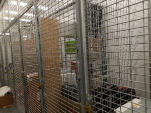 Tenant storage cages Queens NY
