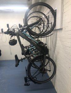 Vertical Wall Mount Bike Hangers NJ