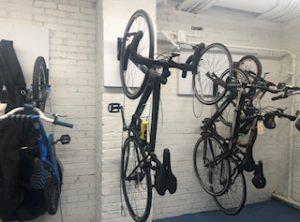 Wall Mounted Vertical Bike Racks NJ