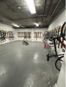Wall Mount Vertical Bike Racks NJ