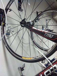 Locking Vertical wall mount bike Racks NJ