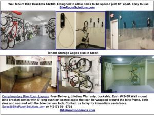 Wall Mount Locking Bike Racks Hudson Cty NJ
